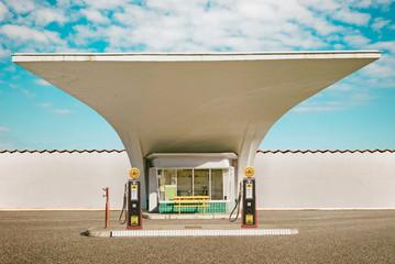 Retro Tankstelle