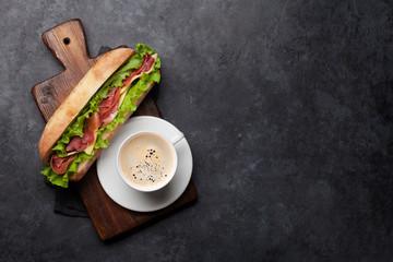Printed roller blinds Snack Fresh submarine sandwich