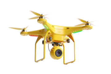 Wall Mural - Rescue quadcopter drone 3d