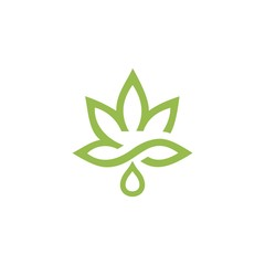 cannabis design logo