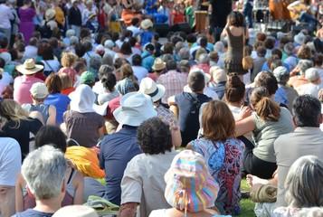 summer open air concert