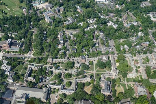 Princeton University from the sky