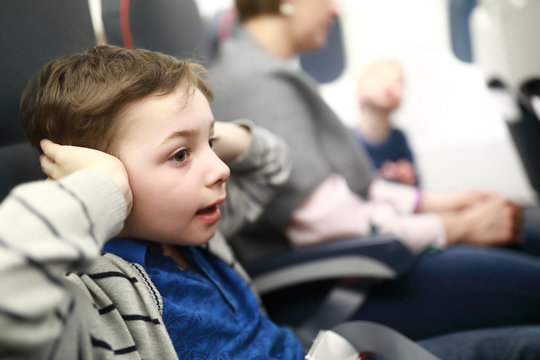Child suffer discomfort from increased ear pressure