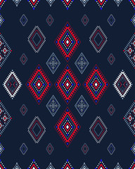 Geometric ornament. Vector seamless pattern