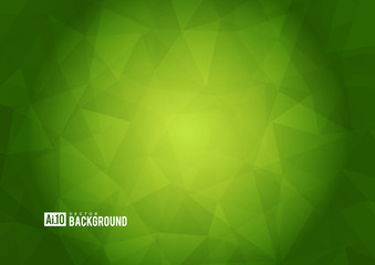 Green texture background with geometric ice pattern.