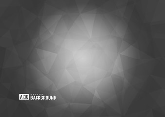 Grey texture background with geometric ice pattern.