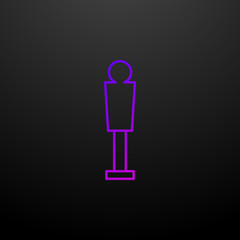 Oscar nolan icon. Elements of awards set. Simple icon for websites, web design, mobile app, info graphics
