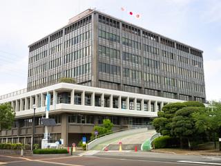 Fototapete - 埼玉県 戸田市役所