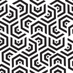 Poster Geometric seamless pattern