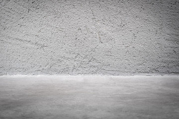 grunge concrete studio room background with light.mock up space for display of product or design.