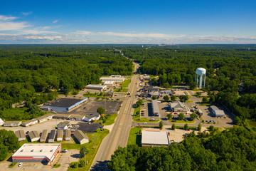 Aerial photo Chester VA USA Fotomurales