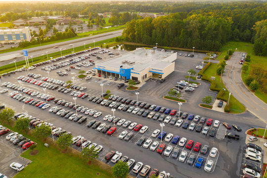 Aerial photo Lumberton Honda USA