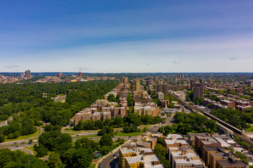 Aerial photos of the Bronx New York