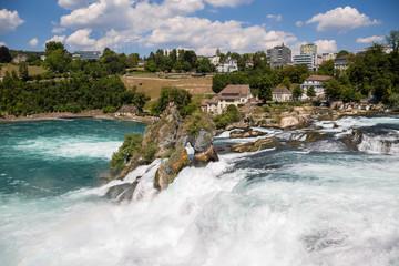 Schaffhausen in der Schweiz Rheinfall