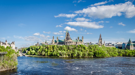 Kanada Parlamentshügel in Ottawa