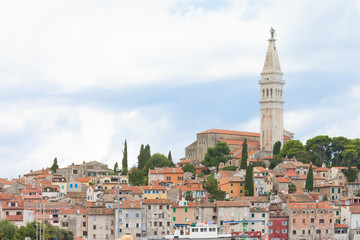 Rovinj, Istria, Croatia - View upon the old town of Rovinj