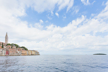 Rovinj, Istria, Croatia - Arriving in Rovinj across the Mediterranean Sea