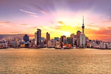 Auckland skyline Wall mural