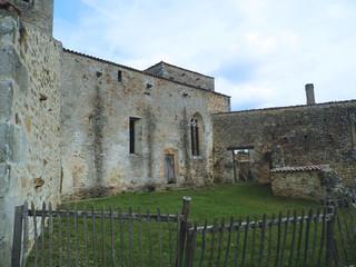 Destroyed village in Oradour-sur-Glane France