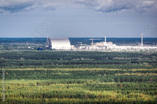 Chernobyl New Safe Confinement in Chernobyl Exclusion Zone