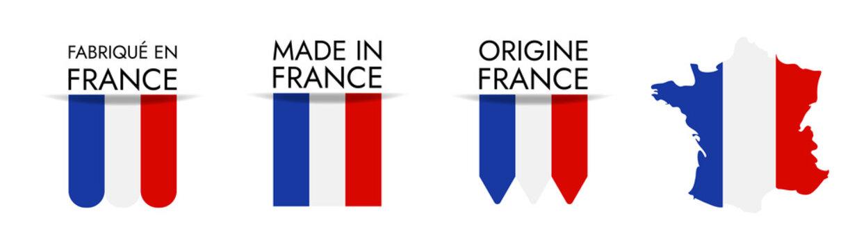 Made in France / Origine France / Fabriqué en France