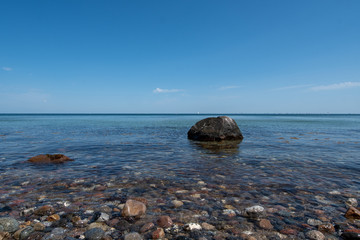 sea and rocks - Schleswig Holstein Germany
