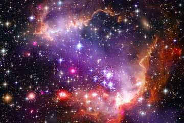 Wall Murals Nasa Star field in space a nebulae and a gas congestion. The elements of this image furnished by NASA.