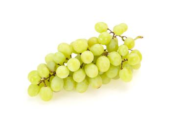 Sweet ripe Green grape branch Fototapete