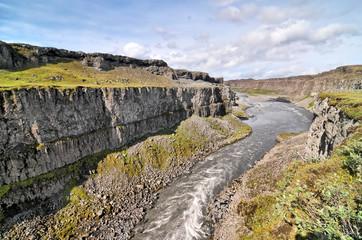 Jokulsa a Fjollum river on Island