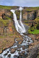 Egilsstadir waterfall on Island