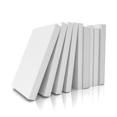 3d Illustration - Bücherstapel - Freisteller