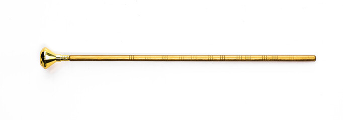 golden magic wand, magic staff