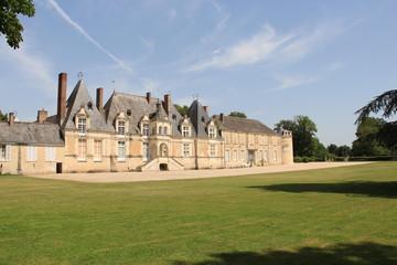 Château de Villesavin, la cabane de chantier de Chambord