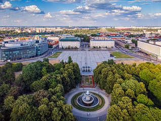 Warszawa - Grób Nieznanego Żołnierza przy placu Piłsudskiego
