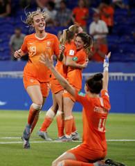 Women's World Cup - Semi Final - Netherlands v Sweden
