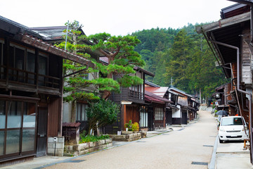 Narai Post Town,traditional inns for any travelers from the Edo period