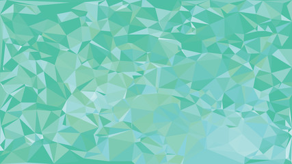Green Abstract Low Poly Background. Geometric backdrop in Origami style with gradient. Textured pattern for your website.