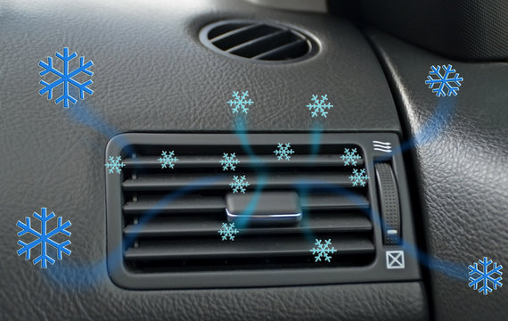 air conditioner air condition car techonolgy cooling snowflakes air flow