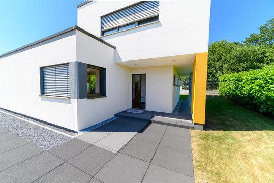 Einfamilienhaus, Eingang, hochwertig