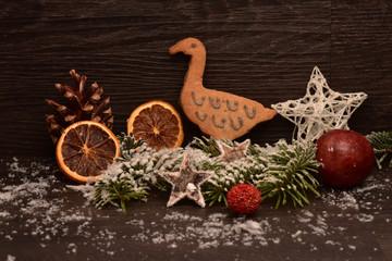 Weihnachtsplätzchen Gans