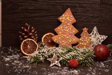 Weihnachtsplätzchen Tannenbaum