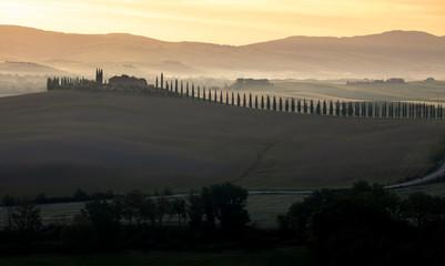 Wall Mural - Countryside near Pienza, Tuscany, Italy