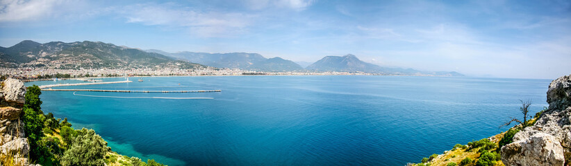 Wall Murals Egypt panoromic view of alanya