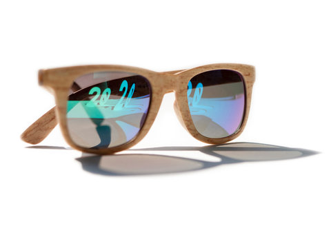 2020, woden glasses, reflection