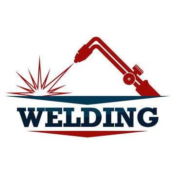 Welding machine symbol for welder design