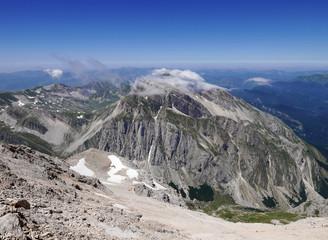 immagine del trekking verso il Gran Sasso, Abbruzzo, Italia