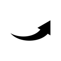 Arrow Pointer Mark Icon Vector Illustration - Vector
