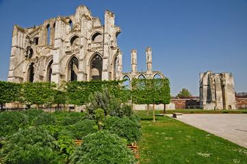 Saint Omer, le rovine dell'Abbazia di Saint Bertin - Pas-de-Calais, Hauts-de-France