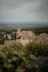 Panoramic view of Bonnieux