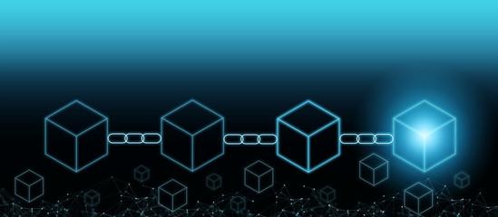 Decentralize Businessman future innovation blockchain technology concept token money bank bitcoin. Safe trust fintech efficiency clouds security crypto digital ai smart contract transaction protection